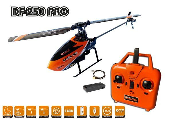 DF-250 PRO Helikopter RTF - No.9520